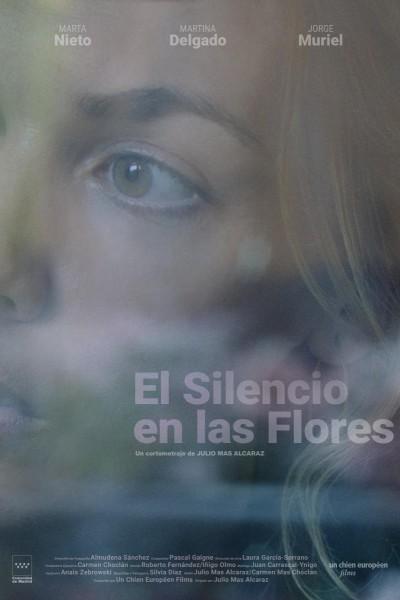 Caratula, cartel, poster o portada de El silencio en las flores