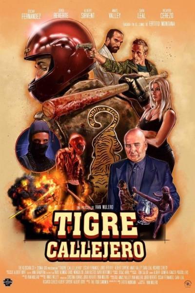 Caratula, cartel, poster o portada de Tigre Callejero
