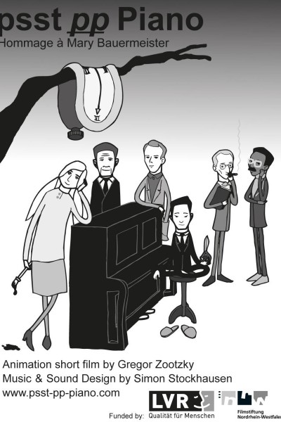 Caratula, cartel, poster o portada de Psst pp Piano - Hommage à Mary Bauermeister