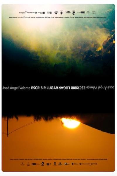 Caratula, cartel, poster o portada de José Ángel Valente. Escribir lugar