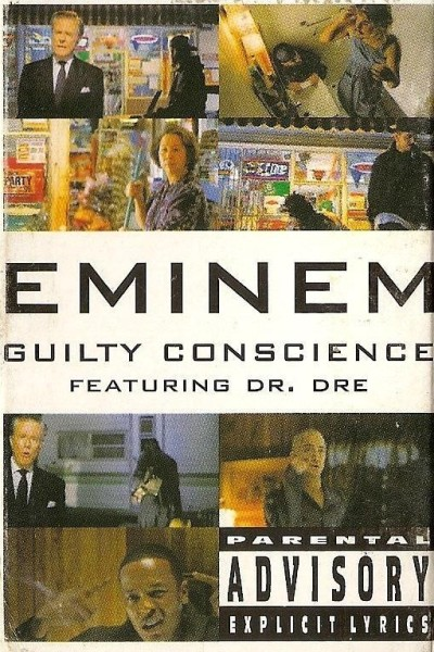 Caratula, cartel, poster o portada de Eminem Feat. Dr. Dre: Guilty Conscience (Vídeo musical)