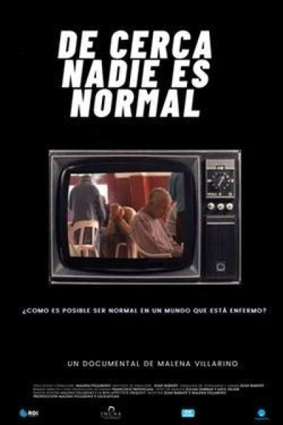 Caratula, cartel, poster o portada de De cerca nadie es normal