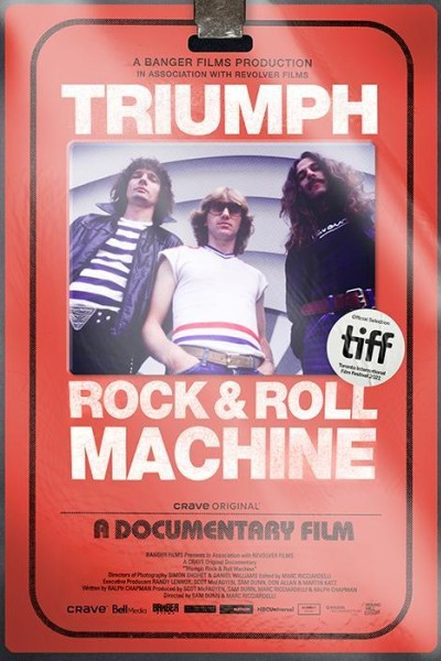 Caratula, cartel, poster o portada de Triumph: Rock & Roll Machine