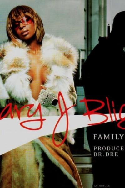 Caratula, cartel, poster o portada de Mary J. Blige: Family Affair (Vídeo musical)