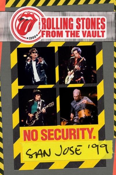 Caratula, cartel, poster o portada de The Rolling Stones - From The Vault: No Security San Jose \'99