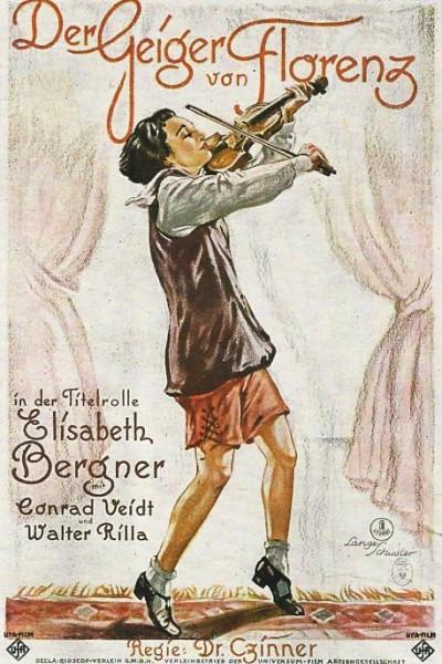 Caratula, cartel, poster o portada de La violinista de Florencia