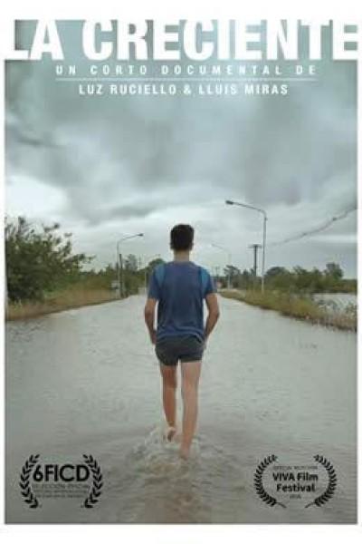 Caratula, cartel, poster o portada de La creciente