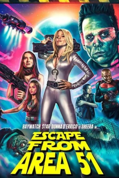 Caratula, cartel, poster o portada de Escape from Area 51
