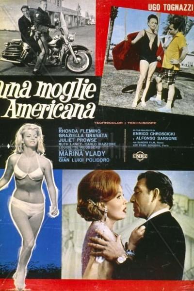 Caratula, cartel, poster o portada de La esposa americana