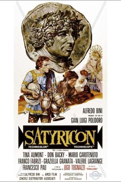 Caratula, cartel, poster o portada de Satyricon