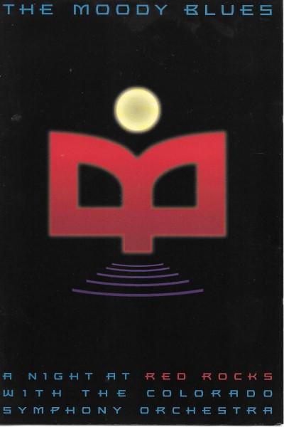 Caratula, cartel, poster o portada de The Moody Blues and the Colorado Symphony Orchestra at Red Rocks Arena