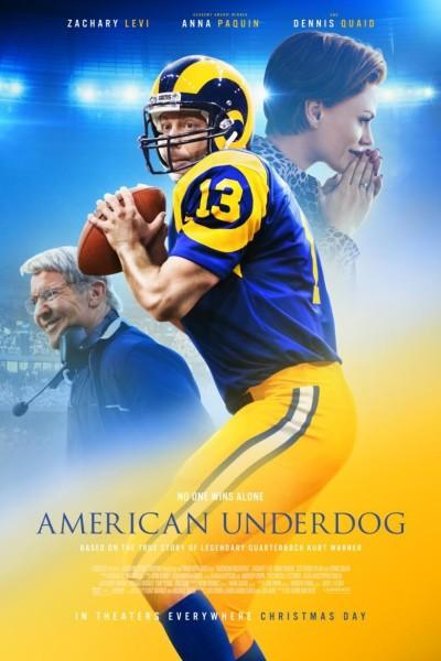 Caratula, cartel, poster o portada de American Underdog