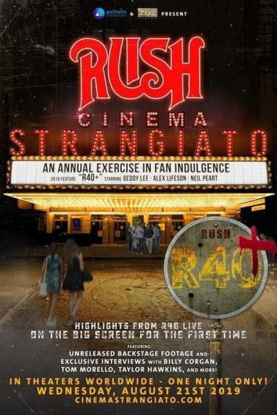 Caratula, cartel, poster o portada de RUSH: Cinema Strangiato 2019