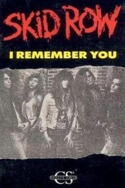 Caratula, cartel, poster o portada de Skid Row: I Remember You (Vídeo musical)