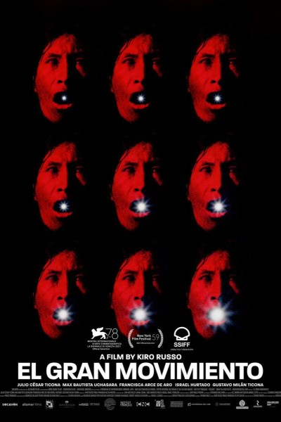 Caratula, cartel, poster o portada de El gran movimiento