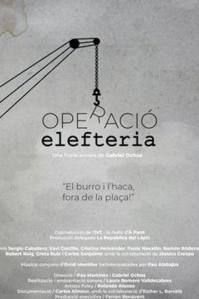 Caratula, cartel, poster o portada de Operació Elefteria
