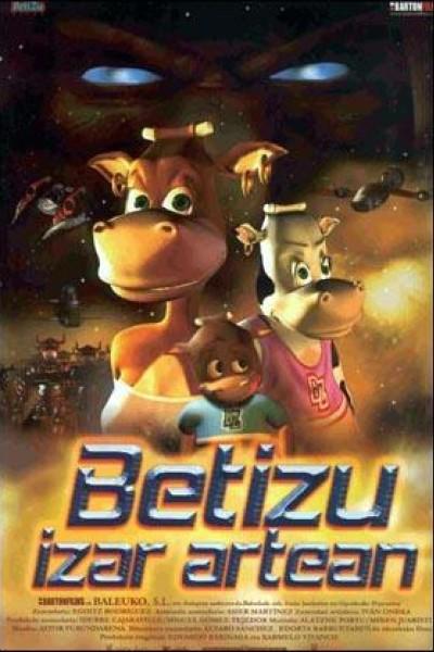 Caratula, cartel, poster o portada de Betizu entre las estrellas