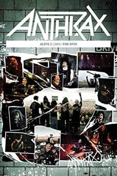 Caratula, cartel, poster o portada de Anthrax: Alive 2 - The DVD