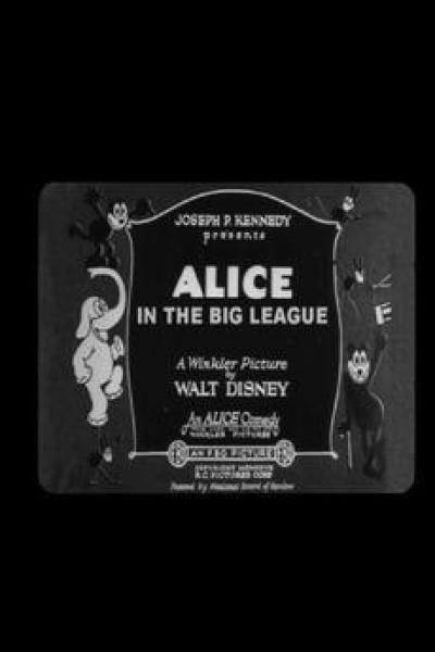 Caratula, cartel, poster o portada de Alice in the Big League