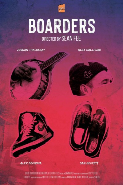Caratula, cartel, poster o portada de Boarders