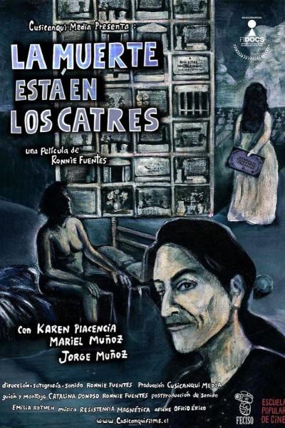 Caratula, cartel, poster o portada de La muerte está en los catres