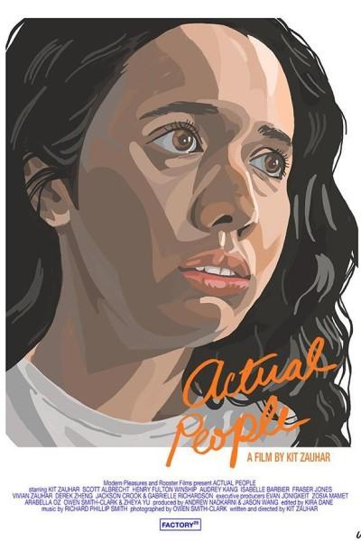 Caratula, cartel, poster o portada de Actual People