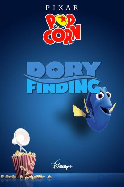 Caratula, cartel, poster o portada de Palomitas Pixar: Dory encuentra
