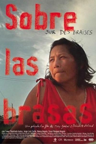 Caratula, cartel, poster o portada de Sobre las brasas