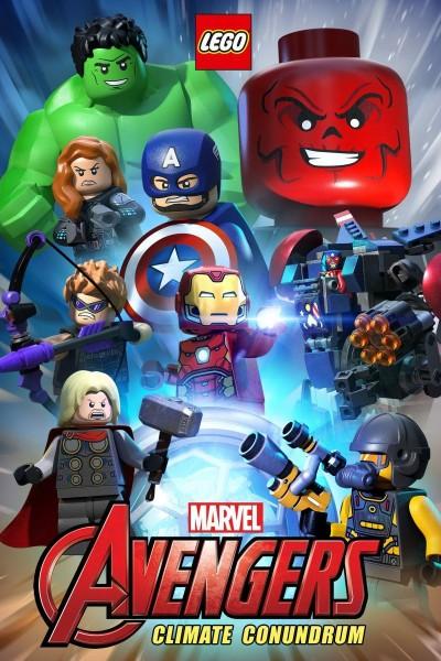 Caratula, cartel, poster o portada de Lego Marvel Avengers: Climate Conundrum