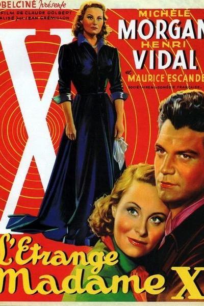 Caratula, cartel, poster o portada de L\'étrange Mme X