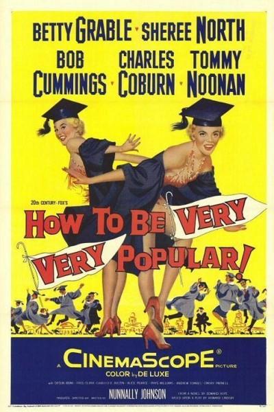 Caratula, cartel, poster o portada de How to Be Very, Very Popular