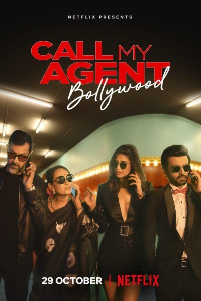 Caratula, cartel, poster o portada de ¡Llamen a mi agente! Bollywood