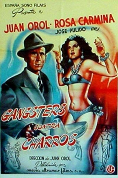 Caratula, cartel, poster o portada de Gángsters contra charros