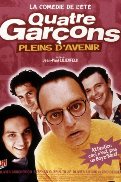 Caratula, cartel, poster o portada de Quatre garçons pleins d\'avenir