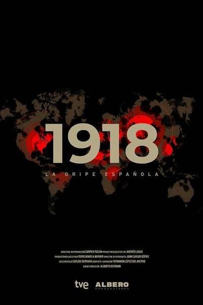 Caratula, cartel, poster o portada de 1918. La gripe española