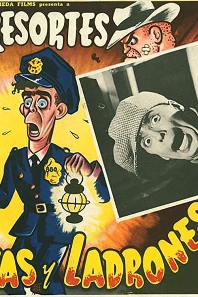 Caratula, cartel, poster o portada de Policías y ladrones
