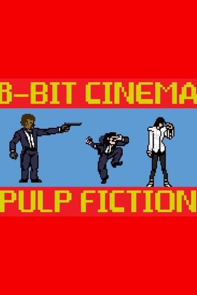 Caratula, cartel, poster o portada de 8 Bit Cinema: Pulp Fiction