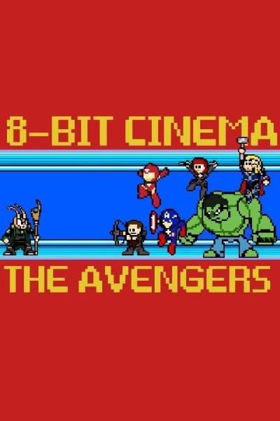 Caratula, cartel, poster o portada de 8 Bit Cinema: Los Vengadores