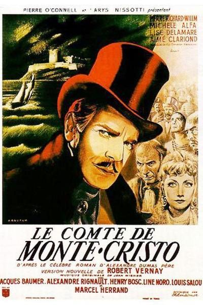 Caratula, cartel, poster o portada de El prisionero del castillo de If