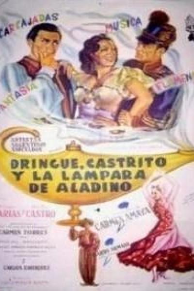 Caratula, cartel, poster o portada de Dringue, Castrito y la lámpara de Aladino