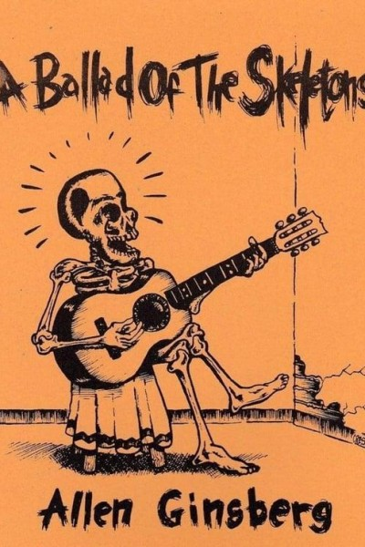 Caratula, cartel, poster o portada de Allen Ginsberg: The Ballad of the Skeletons (Vídeo musical)