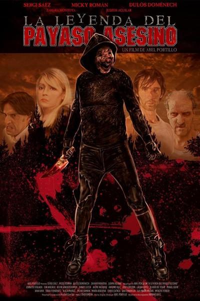 Caratula, cartel, poster o portada de La leyenda del payaso asesino