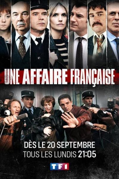Caratula, cartel, poster o portada de Un caso francés