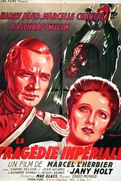 Caratula, cartel, poster o portada de La tragédie impériale