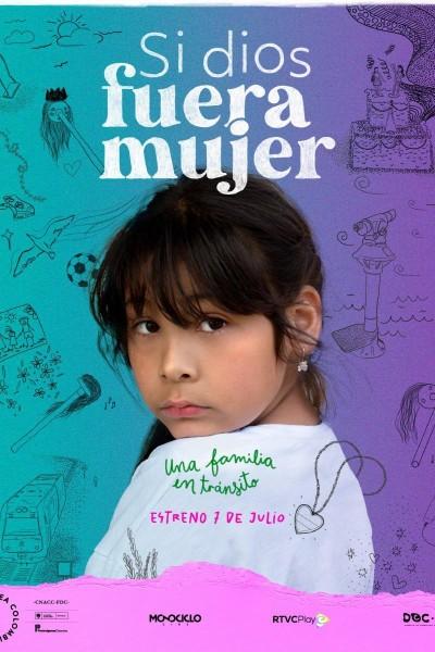 Caratula, cartel, poster o portada de Si dios fuera mujer