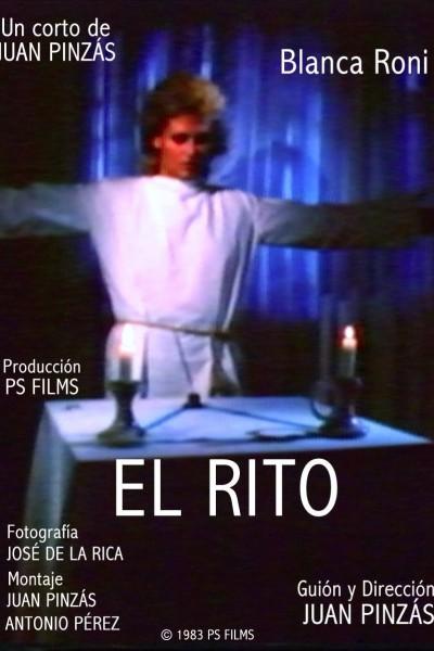 Caratula, cartel, poster o portada de El rito