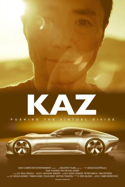 Caratula, cartel, poster o portada de KAZ: Pushing the Virtual Divide