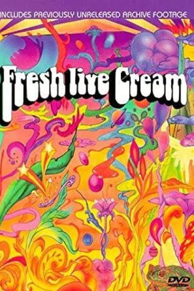 Caratula, cartel, poster o portada de Fresh Cream - Live