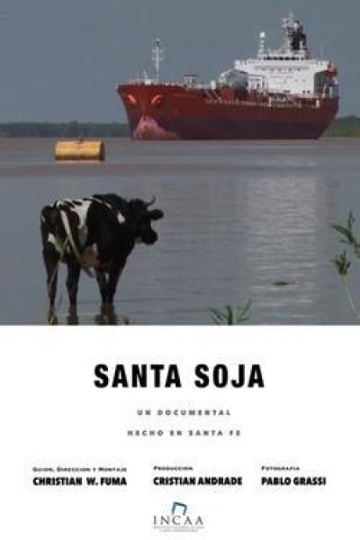 Caratula, cartel, poster o portada de Santa soja