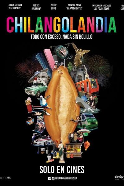 Caratula, cartel, poster o portada de Chilangolandia